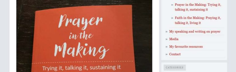 Prayer in the Making by Lyndall Bywater