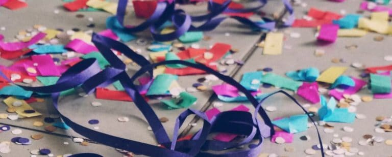 The scattered confetti of false promises