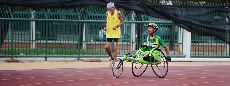 The Paralympic Games . . . and a stirring call to patient endurance and fortitude